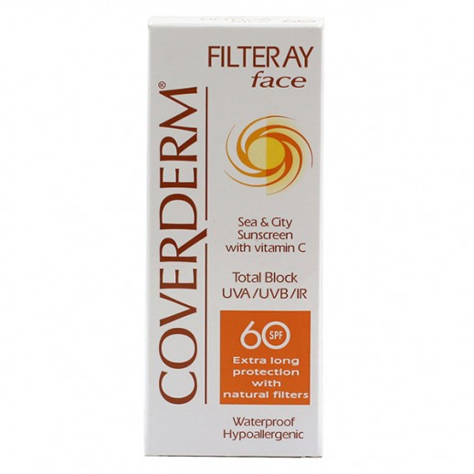 Coverderm Sunscreen Filteray Face SPF60 50 ml