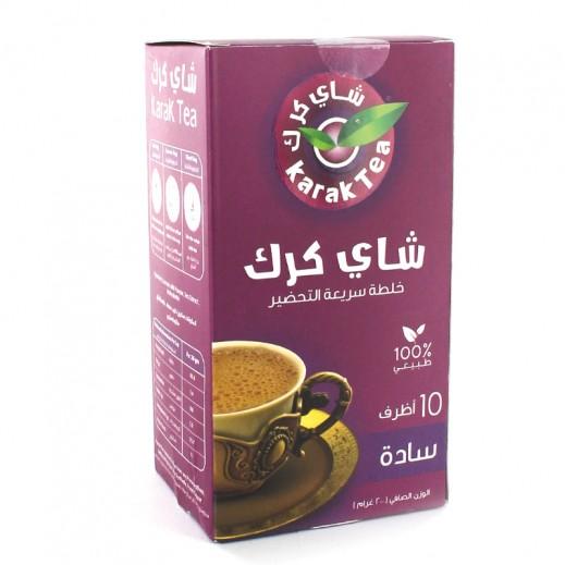 كرك - شاي سادة سريع التحضير 10 أكياس × 20 جم