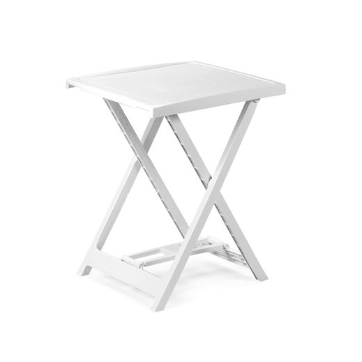 بروجاردن – طاولة بلاستيك قابلة للطي – أبيض
