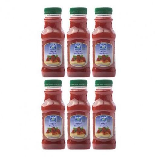 المراعي - عصير فراولة 6 حبة × 300 مل - أسعار الجملة