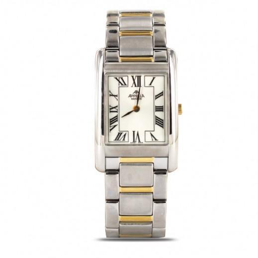 أبيلا – ساعة يد سويسرية للرجال بحزام ستانليس ستيل موديل (AP-591.02.0.001)