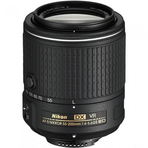 عدسة نيكون AF-S DX NIKKOR 55-200MM VR