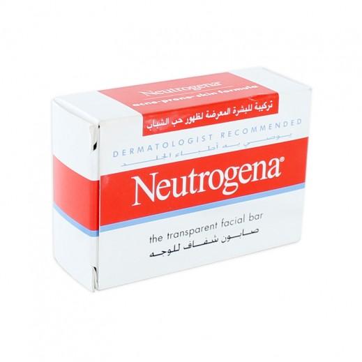 نيوتروجينا – صابون شفاف للبشرة المعرضة لظهور حب الشباب 100 جم