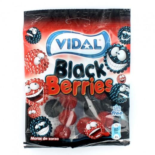 فيدال – حلوى توت أسود 100 جم