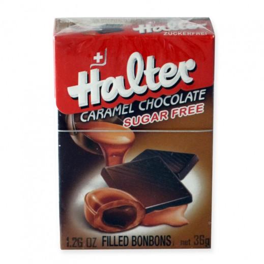 هالتر - بونبون بالكراميل والشوكولاتة 36 جم