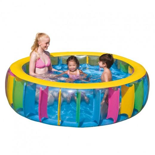 بست واي – حمام السباحة الملون للأطفال 183 × 61 سم