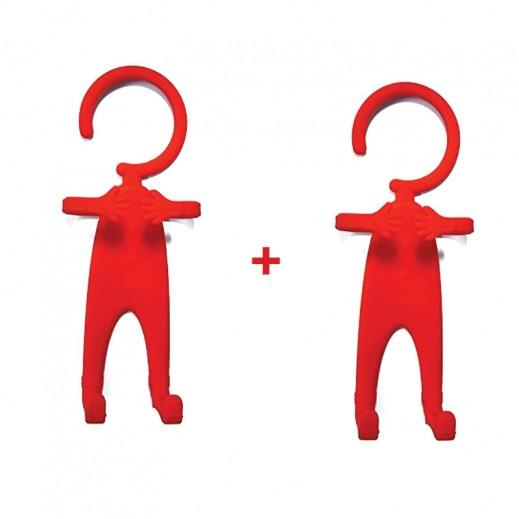 اشتر واحد واحصل على الثاني مجانا قاعدة تثبيت مرنة للهاتف - احمر