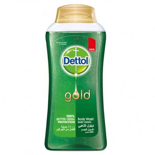 ديتول – غسول الجسم الذهبي للتنظيف اليومي 250 مل