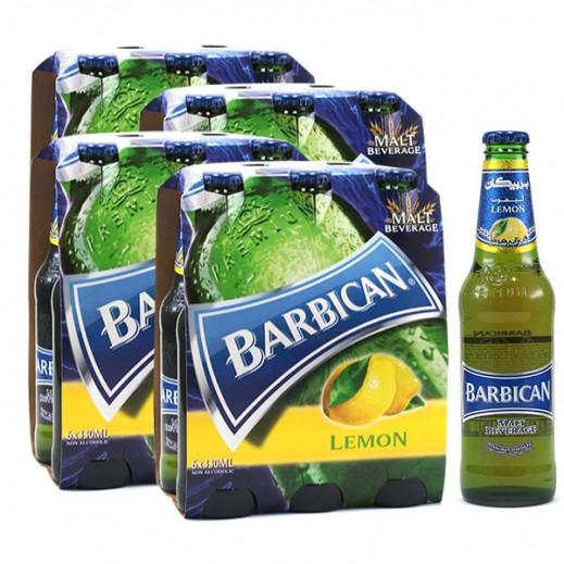 بربيكان - مشروب الشعير بنكهة الليمون 330 مل ( 4 كرتون × 6 حبة ) – أسعار الجملة