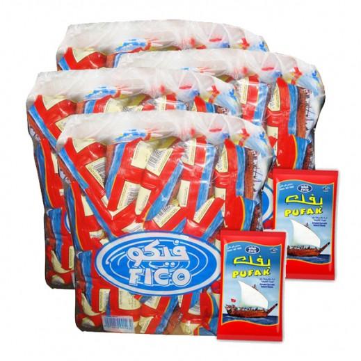 """فيكو – بفك """" سفينة """" ذرة منفوخة بطعم الجبنة الطبيعية 23 جم ( 4 × 20 حبة ) - أسعار الجملة"""