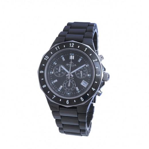 أبيلا – ساعة يد سويسرية  للرجال من السيراميك موديل (AP-4127.07.0.0.04)