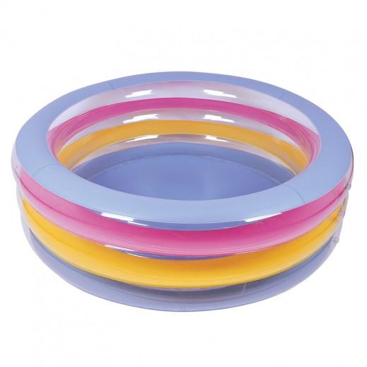 بست واي – حمام السباحة للأطفال 3 حلقات ( 152 × 51 سم )