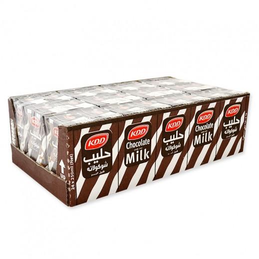 كى دى دى – حليب بنكهة الشوكولاتة 250 مل × 24 حبة