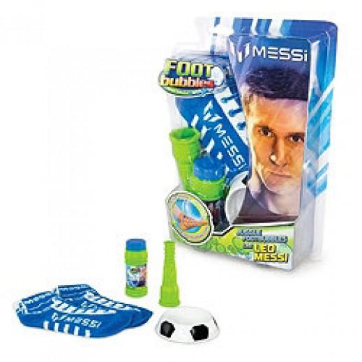 فوت بابلز – لعبة كرة الفقاعات مع 2 جوارب – أزرق
