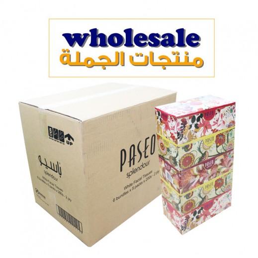 باسيو – مناديل ورقية 200 منديل × 30 حبة - أسعار الجملة