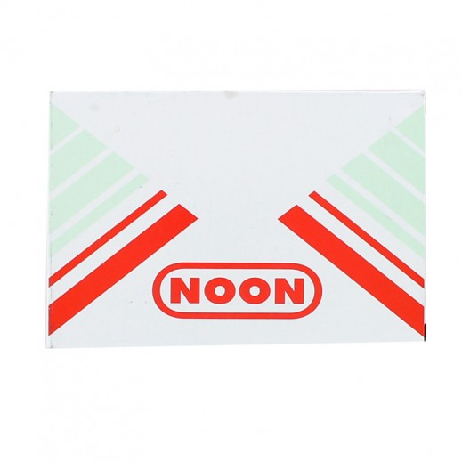 نون – ختامة 122 × 84 مم - أحمر