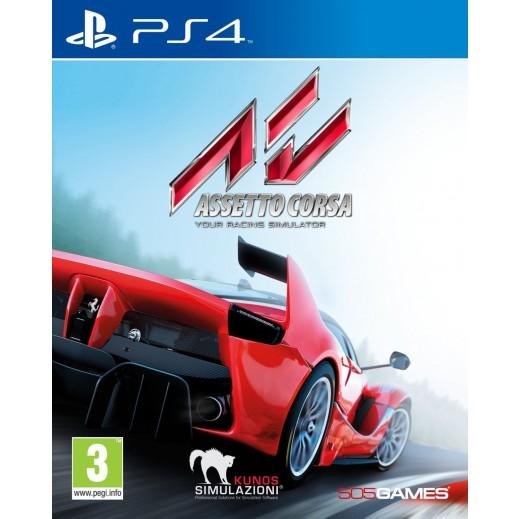لعبة ASSETTO CORSA لجهاز PS4 نظام PAL