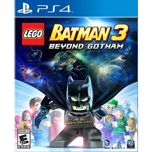 لعبة Lego Batman 3: Beyond Gotham على PS4 نظام NTSC