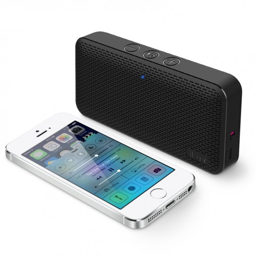 Iluv Wireless Speaker Aud Mini Black AUDMINIBK