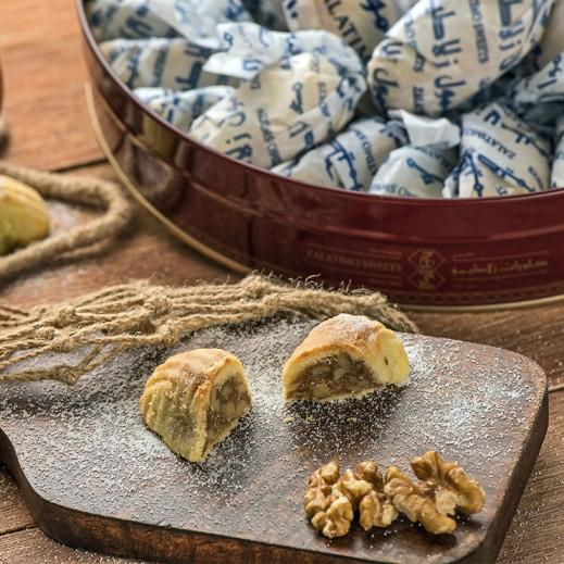 معمول بالجوز كبير 1كجم - يتم التوصيل بواسطة Zalatimo Sweets