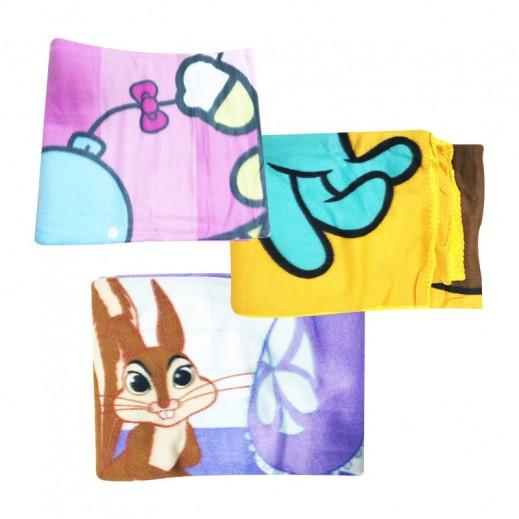 بطانية صوف - (ألوان متعددة) – 170 × 132 سم