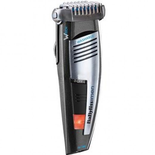 Babyliss Grooved Waterproof Wheel Control Trimmer E848SDE