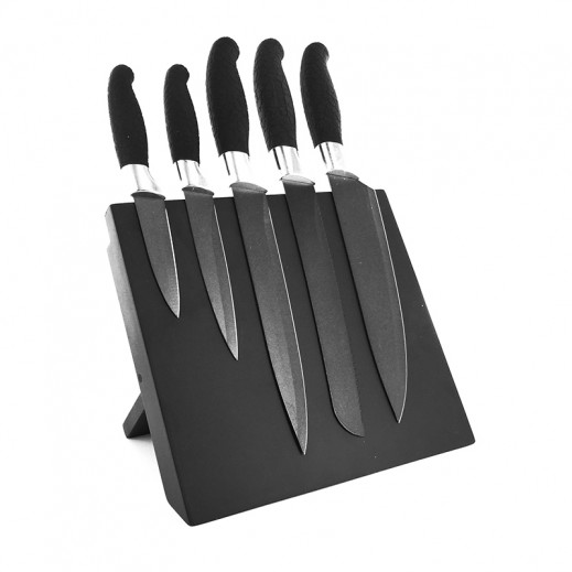 طقم سكاكين مطبخ بستاند مغناطيسي