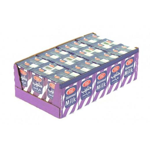 كى دى دى – حليب طويل الأمد خالي الدسم 250 مل ( 24 حبة )