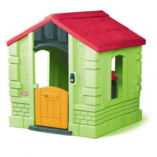 لتيل تايكس – كوخ الحديقة السري للأطفال -أخضر  - يتم التوصيل بواسطة Safari House