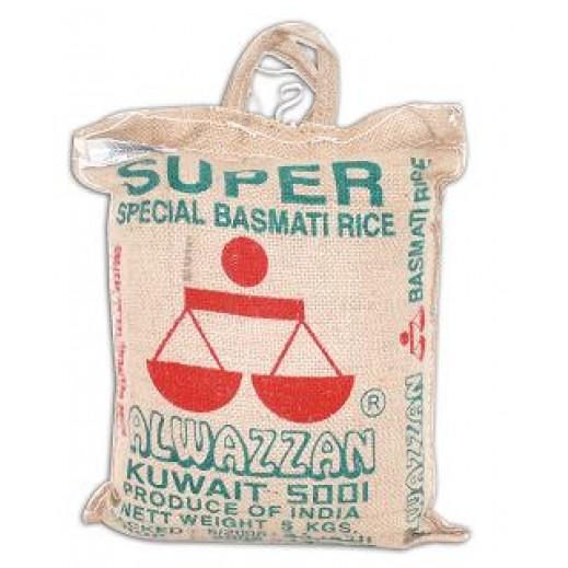 الوزان - أرز بسمتي هندي سوبر 5 كجم