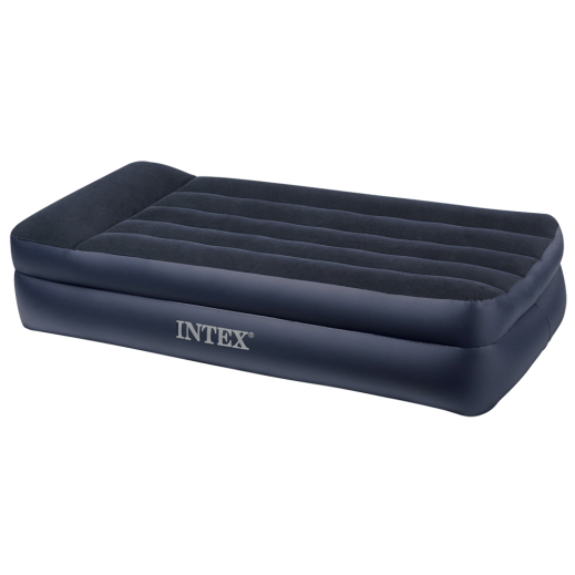 Intex Queen Pillow Rest Raised Airbed Kit 99 x 191 x 42 cm
