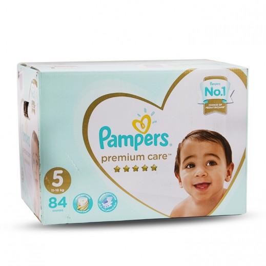 Pampers Premium Care Stage 5 (11-16 kg) 84 Pieces Mega Box