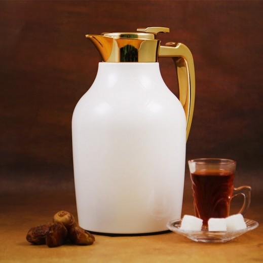 ASC Mydot Deluxe Vaccum Flask White 1 L