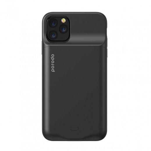 Porodo Wireless Battery Case iPhone11 Pro Max - Black