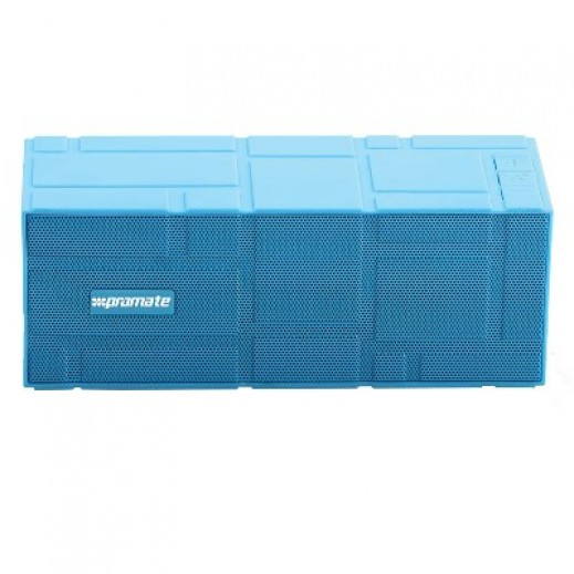 Promate LavaBar Portable Wireless Speaker with Hands-Free Blue