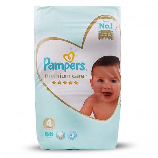 Pampers Premium Care Size 4 Maxi (9-14 kg) 66 Pieces