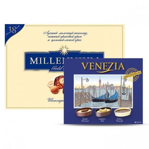 Millennium Gold Series Chocolate 205 g + Millennium Venezia Chocolate 125 g