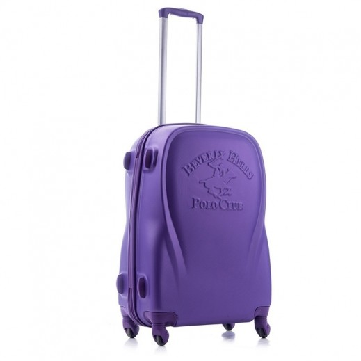 US Polo Small Canada ABS Normal lock 4 Wheels - Purple