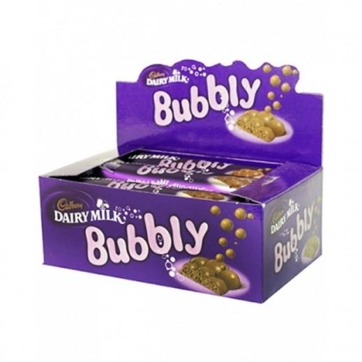 Cadbury Dairy Milk Bubbly Chocolate 12x28 g