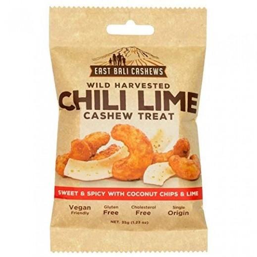 East Bali Cashews Chili Lime Cashew Nuts 35 g