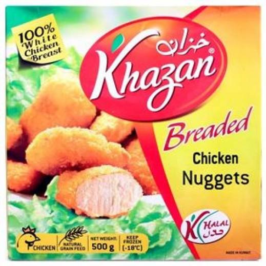Khazan Frozen Breaded Chicken Nuggets 500 g