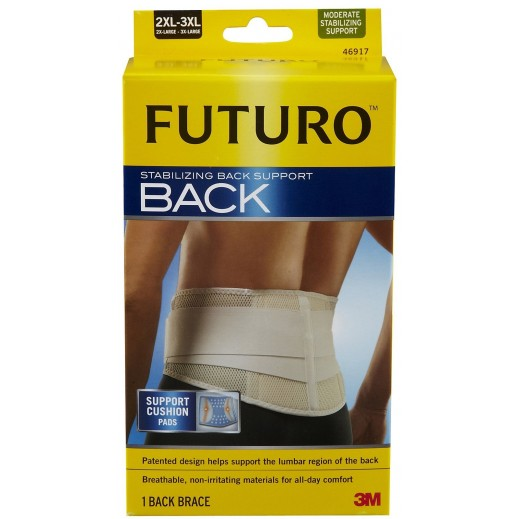 Futuro Stabilizing Back Support Size 2XL-3XL