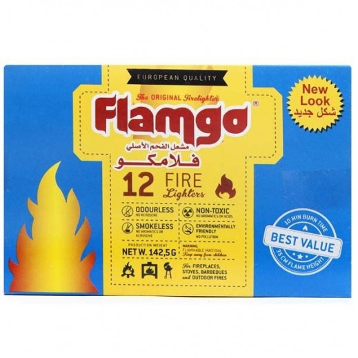 Flamgo Fire Lighters 12 Cubes