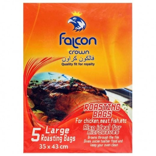 Falcon Crown Roasting Bags 35 x 43 cm Large (5 bags)