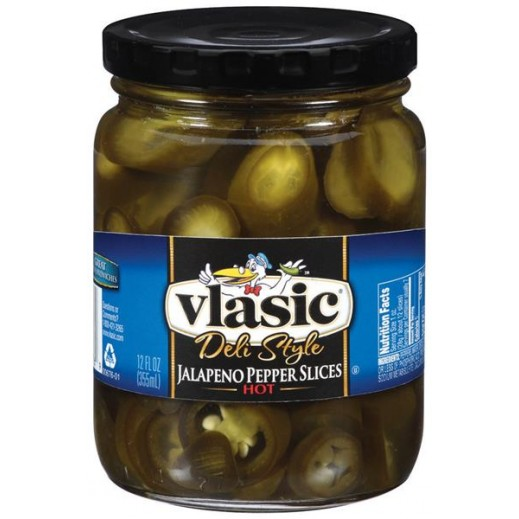 Vlasic Deli Style Jalapeno Slices Hot Pepper 355 ml