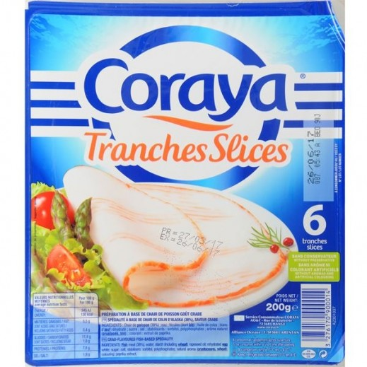 Coraya Tranches Slices 200 g