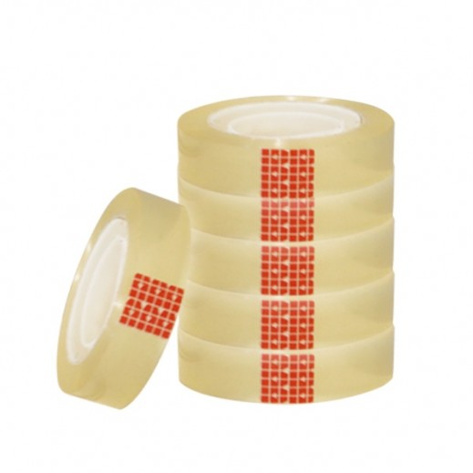 Maha 12mm Clear Tape 12 Rolls