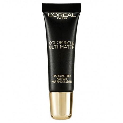 L'Oreal Color Riche Ulti Matte Lipstick Mattifier
