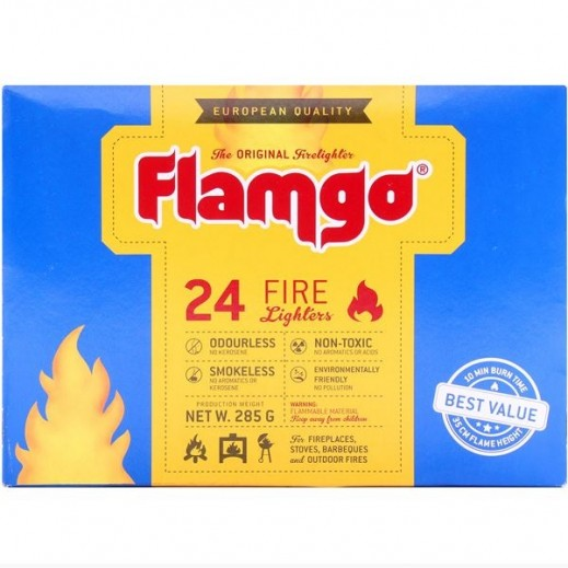 Flamgo Fire Lighters 24 Cubes