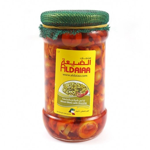 Aldaiaa Olives With Dressings 600 g